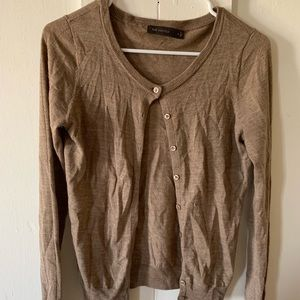 The limited sand brown cardigan